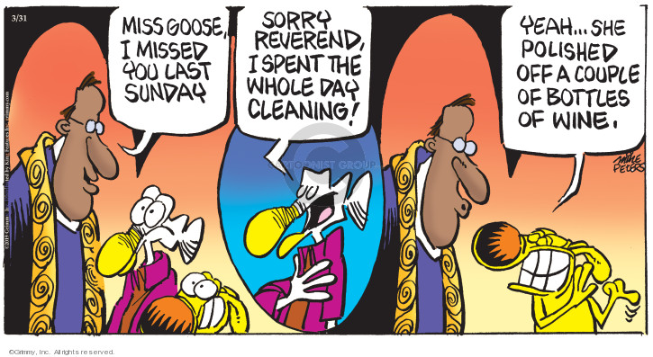 Comic Strip Mike Peters  Mother Goose and Grimm 2019-03-31 drink