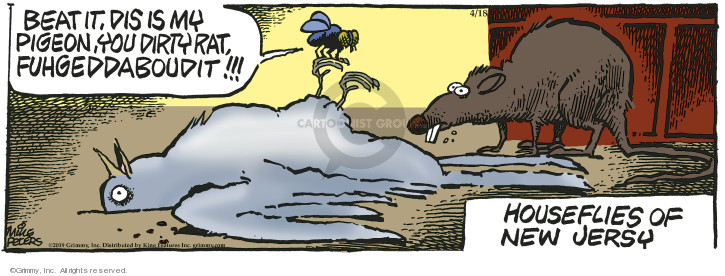 Comic Strip Mike Peters  Mother Goose and Grimm 2019-04-18 television cartoon