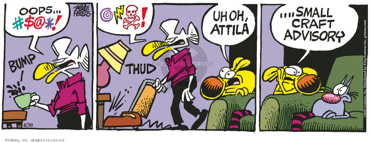 Comic Strip Mike Peters  Mother Goose and Grimm 2019-04-30 vacuum