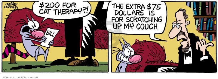 Comic Strip Mike Peters  Mother Goose and Grimm 2019-05-07 therapist
