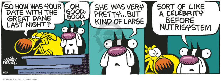 Cartoonist Mike Peters  Mother Goose and Grimm 2019-05-25 goose