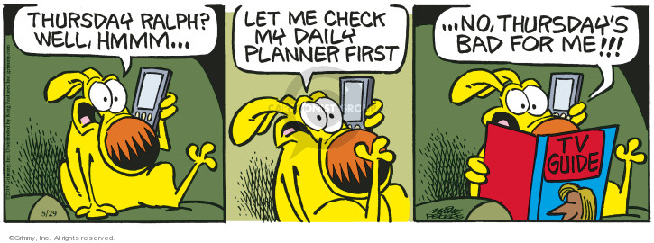 Cartoonist Mike Peters  Mother Goose and Grimm 2019-05-29 goose