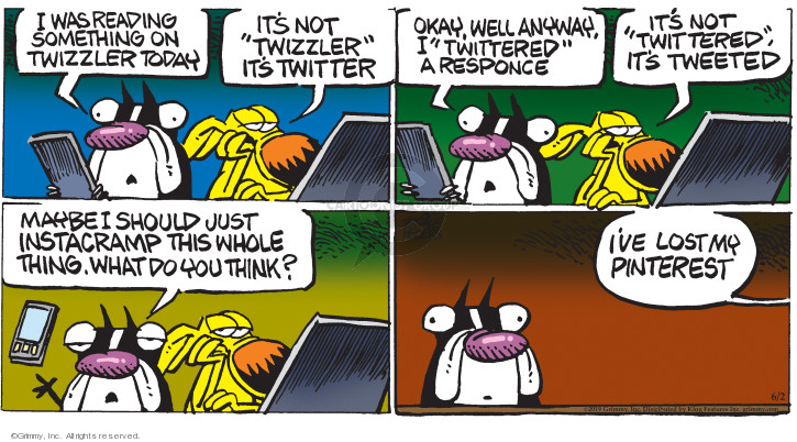 Comic Strip Mike Peters  Mother Goose and Grimm 2019-06-02 response