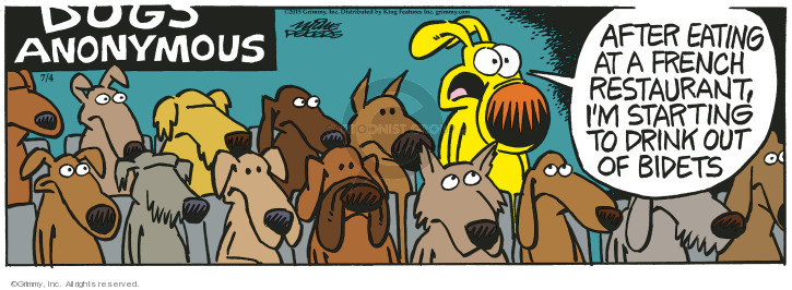 Comic Strip Mike Peters  Mother Goose and Grimm 2019-07-04 anonymous