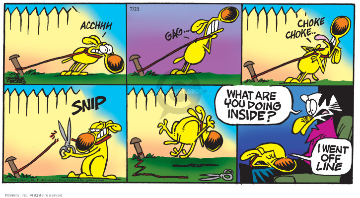 Comic Strip Mike Peters  Mother Goose and Grimm 2019-07-21 internet