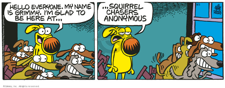 Comic Strip Mike Peters  Mother Goose and Grimm 2019-08-01 anonymous