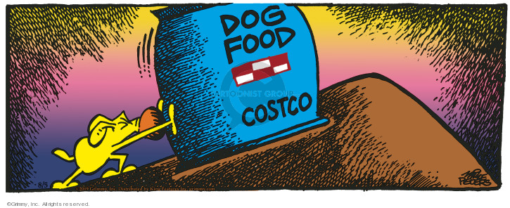 Comic Strip Mike Peters  Mother Goose and Grimm 2019-08-05 food