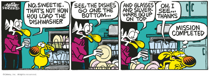 Comic Strip Mike Peters  Mother Goose and Grimm 2019-08-12 load
