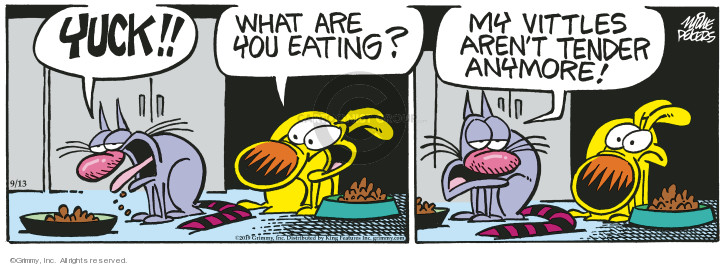 Comic Strip Mike Peters  Mother Goose and Grimm 2019-09-13 aren't