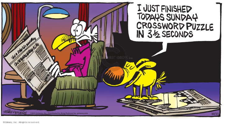 Comic Strip Mike Peters  Mother Goose and Grimm 2019-10-13 dog