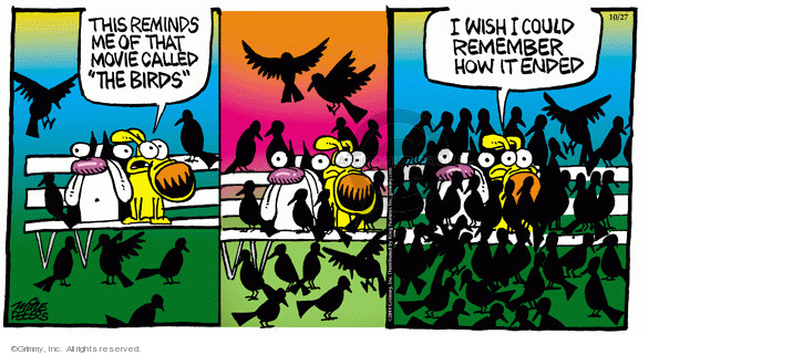Comic Strip Mike Peters  Mother Goose and Grimm 2019-10-27 movie film