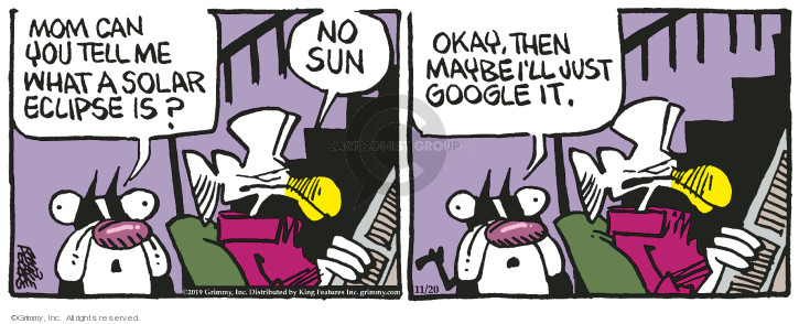 Comic Strip Mike Peters  Mother Goose and Grimm 2019-11-20 okay