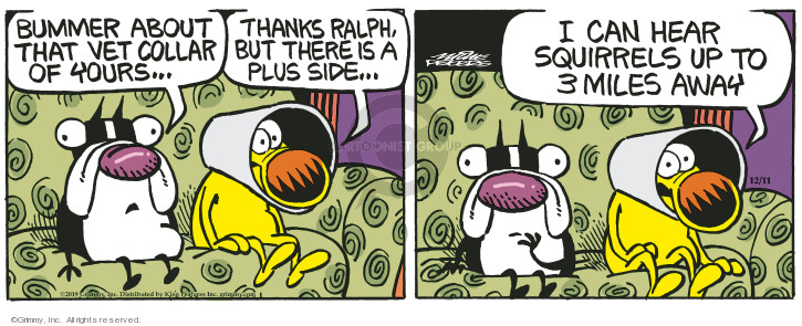 Cartoonist Mike Peters  Mother Goose and Grimm 2019-12-11 goose