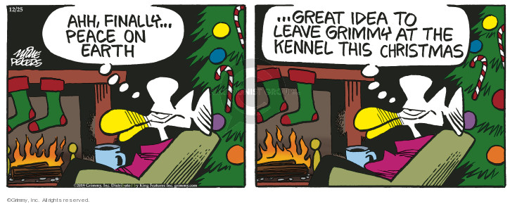 Comic Strip Mike Peters  Mother Goose and Grimm 2019-12-25 animal