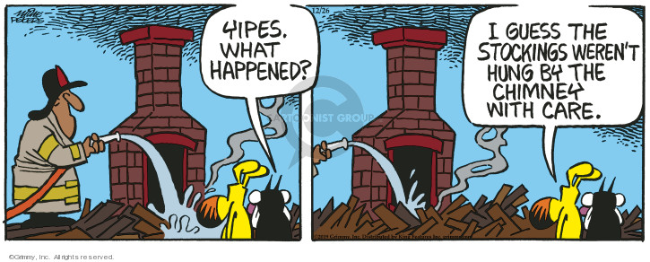 Comic Strip Mike Peters  Mother Goose and Grimm 2019-12-26 happen