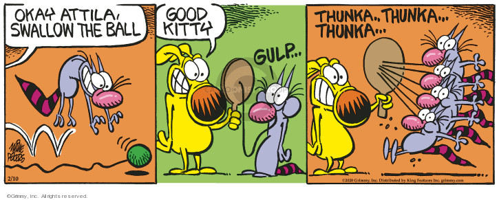 Comic Strip Mike Peters  Mother Goose and Grimm 2020-02-10 Mike