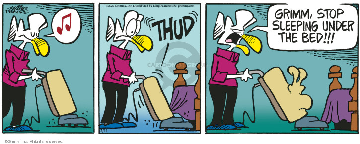 Comic Strip Mike Peters  Mother Goose and Grimm 2020-02-11 Mike