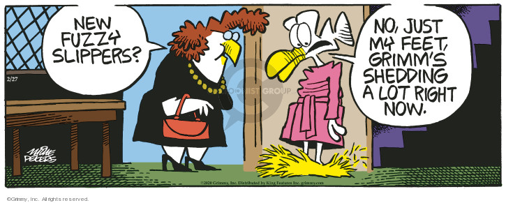 Comic Strip Mike Peters  Mother Goose and Grimm 2020-02-27 dog