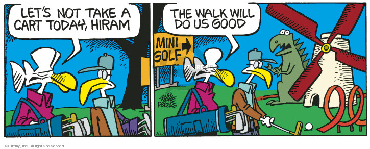 Cartoonist Mike Peters  Mother Goose and Grimm 2020-03-23 today