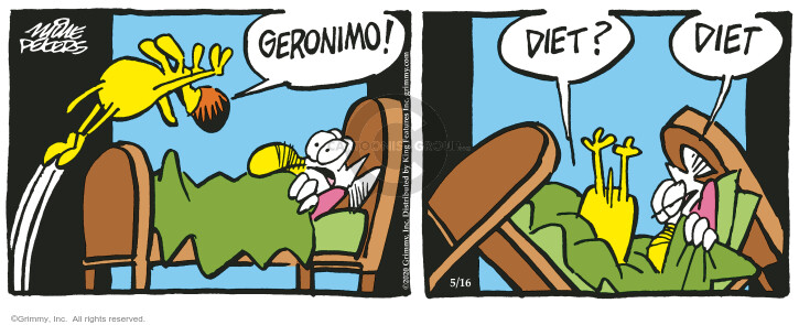 Comic Strip Mike Peters  Mother Goose and Grimm 2020-05-16 bed
