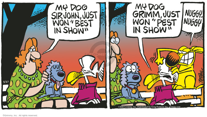 Comic Strip Mike Peters  Mother Goose and Grimm 2020-05-17 Grimm