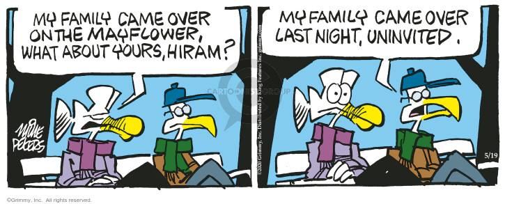 Comic Strip Mike Peters  Mother Goose and Grimm 2020-05-19 guest