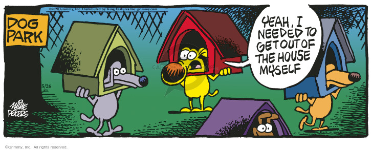 Comic Strip Mike Peters  Mother Goose and Grimm 2020-05-26 Grimm