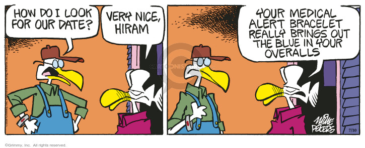 Comic Strip Mike Peters  Mother Goose and Grimm 2020-07-10 out