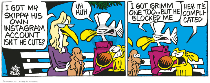 Comic Strip Mike Peters  Mother Goose and Grimm 2020-07-24 hey