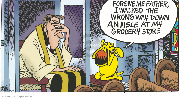 Comic Strip Mike Peters  Mother Goose and Grimm 2020-08-30 coronavirus