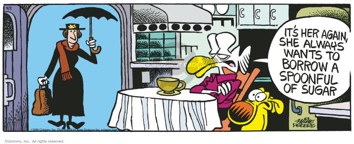 Comic Strip Mike Peters  Mother Goose and Grimm 2020-09-02 strip