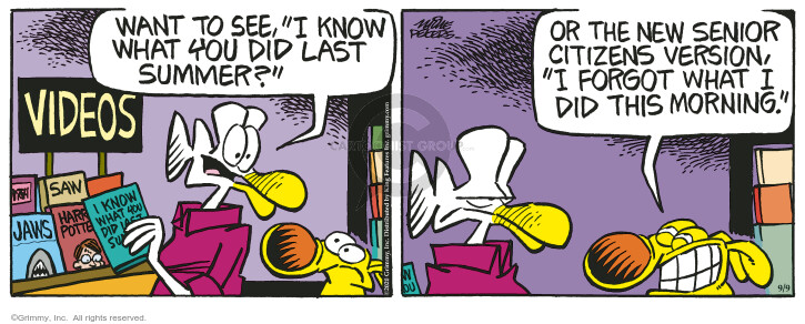 Comic Strip Mike Peters  Mother Goose and Grimm 2020-09-09 strip