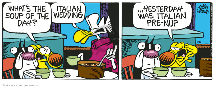 Comic Strip Mike Peters  Mother Goose and Grimm 2020-09-12 wedding