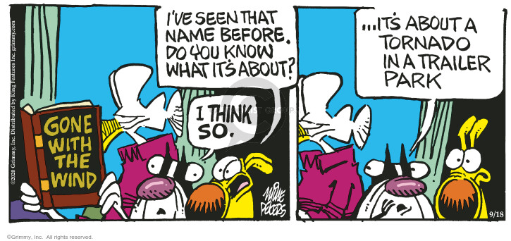 Comic Strip Mike Peters  Mother Goose and Grimm 2020-09-18 strip