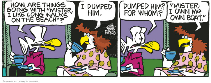 Comic Strip Mike Peters  Mother Goose and Grimm 2020-11-10 going