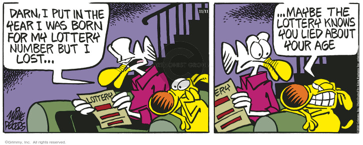 Comic Strip Mike Peters  Mother Goose and Grimm 2020-11-11 number