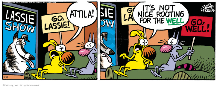 Comic Strip Mike Peters  Mother Goose and Grimm 2021-01-18 Grimm