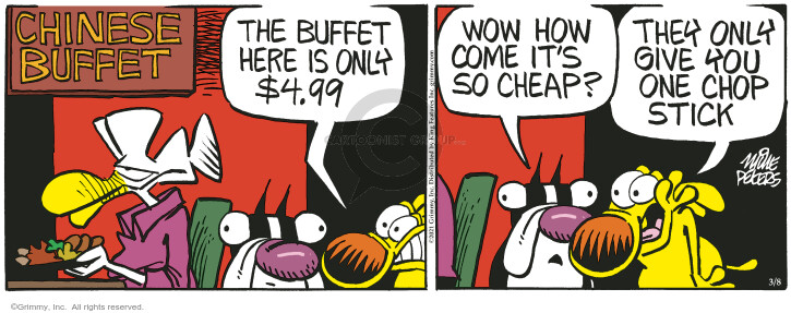Comic Strip Mike Peters  Mother Goose and Grimm 2021-03-08 restaurant