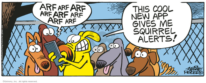 Comic Strip Mike Peters  Mother Goose and Grimm 2021-03-10 dog