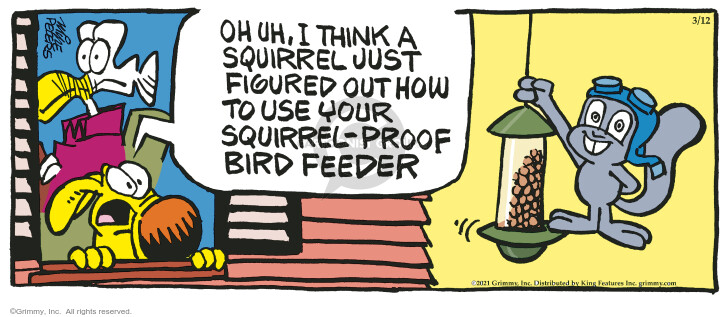 Comic Strip Mike Peters  Mother Goose and Grimm 2021-03-12 out