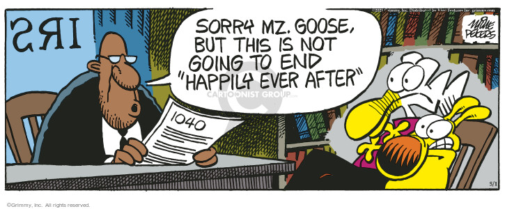 Comic Strip Mike Peters  Mother Goose and Grimm 2021-05-01 strip