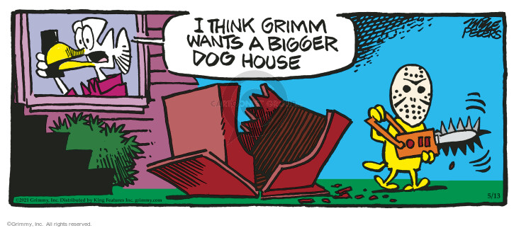 Comic Strip Mike Peters  Mother Goose and Grimm 2021-05-13 strip