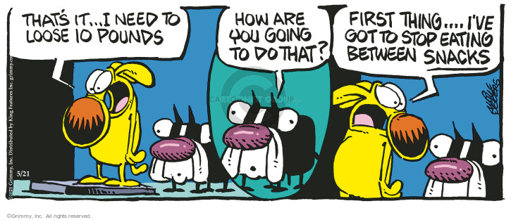 Comic Strip Mike Peters  Mother Goose and Grimm 2021-05-21 get