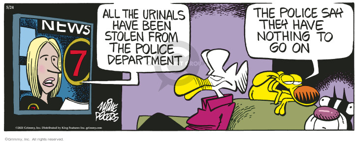 Comic Strip Mike Peters  Mother Goose and Grimm 2021-05-24 nothing