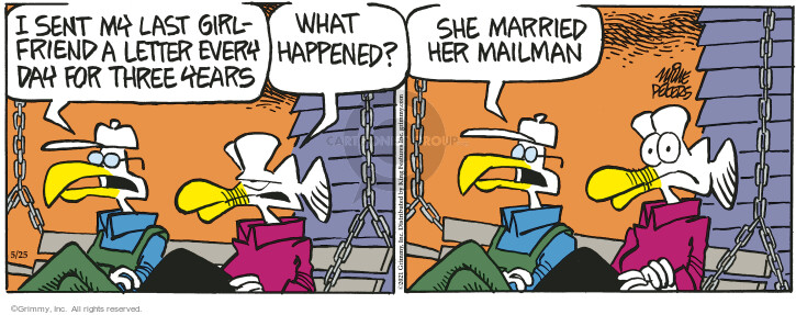 Comic Strip Mike Peters  Mother Goose and Grimm 2021-05-25 girlfriend