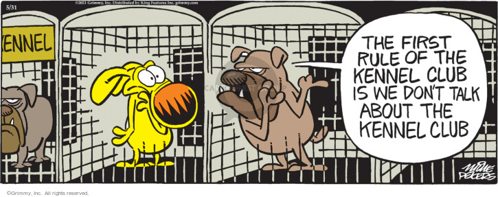 Comic Strip Mike Peters  Mother Goose and Grimm 2021-05-31 movie