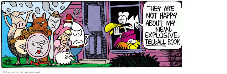 Comic Strip Mike Peters  Mother Goose and Grimm 2021-06-02 not