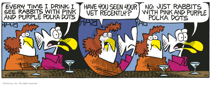 Comic Strip Mike Peters  Mother Goose and Grimm 2021-06-08 drink