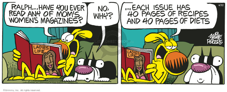 Comic Strip Mike Peters  Mother Goose and Grimm 2021-06-12 mom