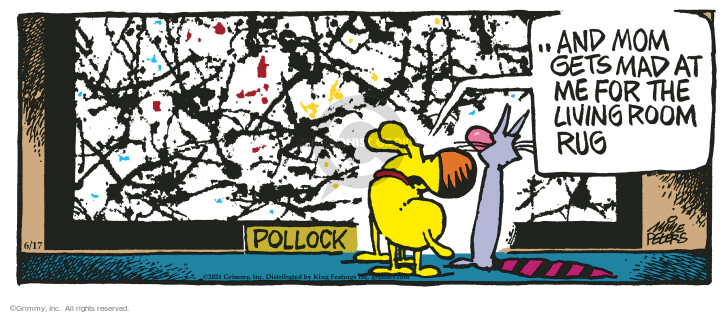 Comic Strip Mike Peters  Mother Goose and Grimm 2021-06-17 mom